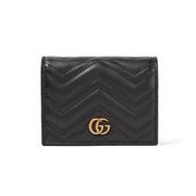 Gucci GG Marmont 黑色皮夾