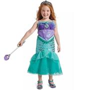滿額享8折!Disney 迪士尼 小美人魚 兒童全套服裝