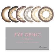 1件包郵包稅+最高滿減¥60!EverColor Eye Genic 月拋彩色隱形眼鏡美瞳 1片裝