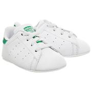 Adidas 阿迪達斯 Stan Smith Crib 綠尾嬰兒鞋