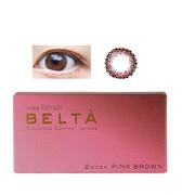 【無門檻免郵中國】BELTA 雙周拋美瞳 14.1mm 粉棕色 6片裝