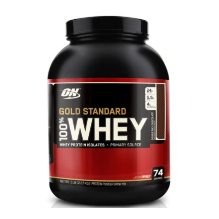【一件美境免郵】再減$10!Optimum Nutrition 100% 乳清蛋白 濃郁巧克力味 2.27kg