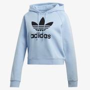 adidas Originals 三葉草 女子短款運動衛衣