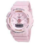 【55專享】補貨!Casio 卡西歐 G-Shock 系列 櫻花粉女士運動腕表 GMA-S130-4ACR
