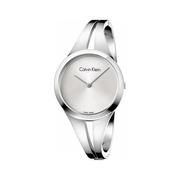 降價!Calvin Klein 卡爾文·克萊恩 Addict 系列 銀色女士時裝腕表 K7W2M116