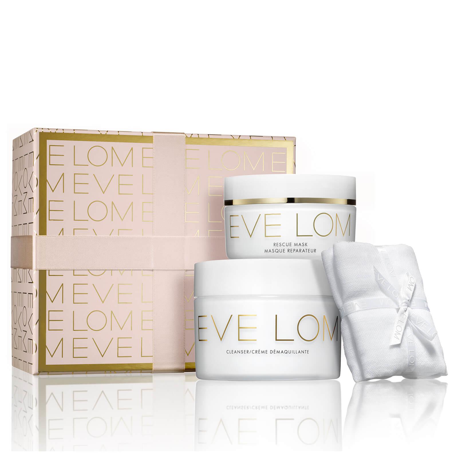 EVE LOM 圣誕禮盒 卸妝膏200ml+急救面膜100ml+潔面巾