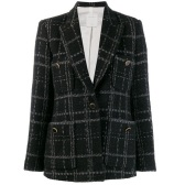 SANDRO PARIS tweed blazer 女款西裝外套