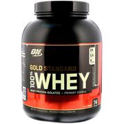 【1件0稅免郵】Optimum Nutrition 歐普特蒙 100%黃金標準乳清蛋白粉 濃郁巧克力 2.27kg