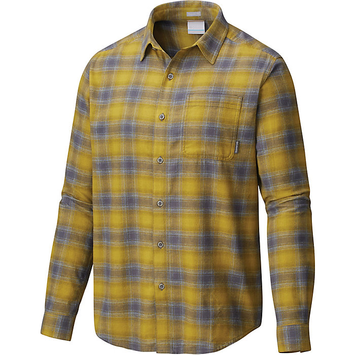 僅限M碼!Columbia 哥倫比亞 Boulder Ridge LS 男士法蘭絨襯衫