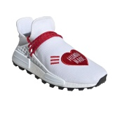 "adidas x Pharrell Williams 合作款 Human Made NMD 男士白色運動鞋 <b style=""color:#ff7e00"">$250(約1,787元)</b>"