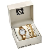 【55專享】Anne Klein 安妮·克萊因 珍珠母貝女士腕表套裝