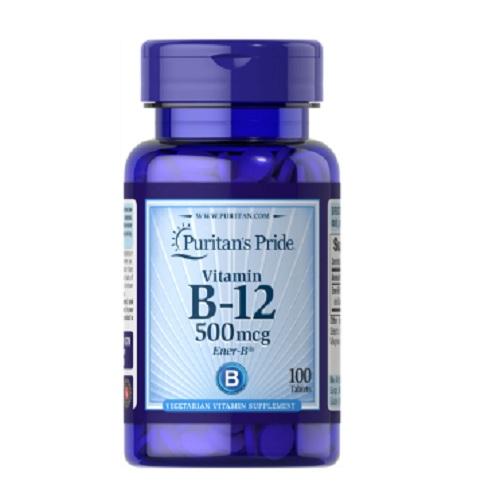 Puritan's Pride 普麗普萊 維生素B12 500mcg 100粒