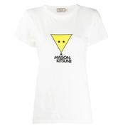 MAISON KITSUNé 三角狐貍圖案T恤