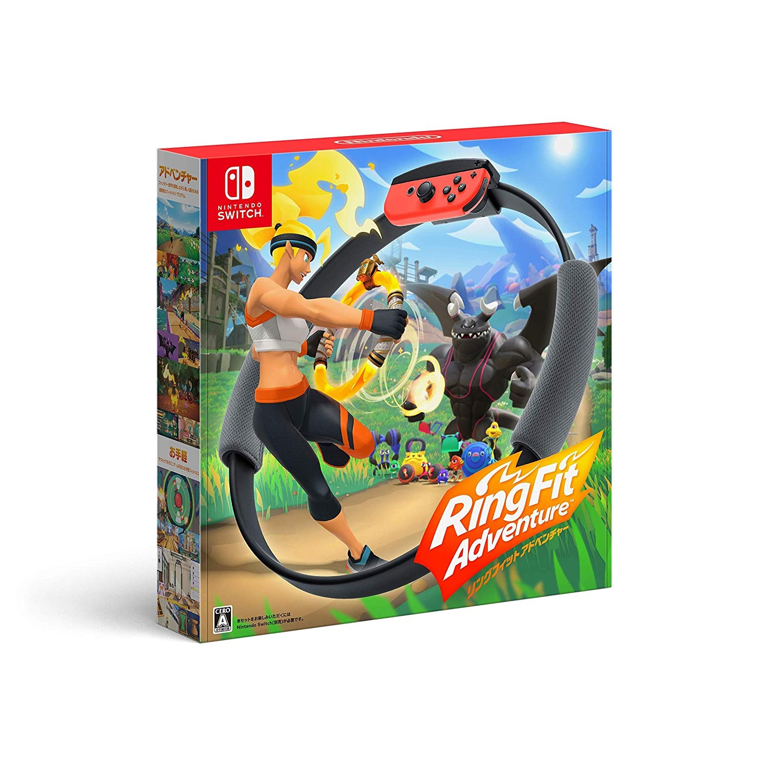 Nintendo 任天堂 Switch 健身環大冒險 Ring fit Adventure