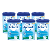 Aptamil 德國愛他美 Pronutra 嬰幼兒奶粉 3段 800g*6罐 適合10個月以上