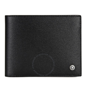 【55專享】Montblanc 萬寶龍 黑色皮質錢包