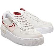 Nike 耐克 Air Force 1 空軍1號 粉紅白色解構式運動鞋