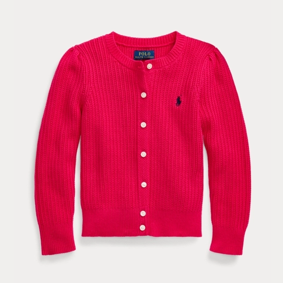 Ralph Lauren 拉夫勞倫 Rib-Knit Cotton Cardigan 小童開衫