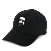KARL LAGERFELD K/Ikonik貼花棒球帽