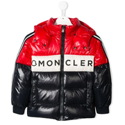 MONCLER KIDS logo童款絎縫夾克