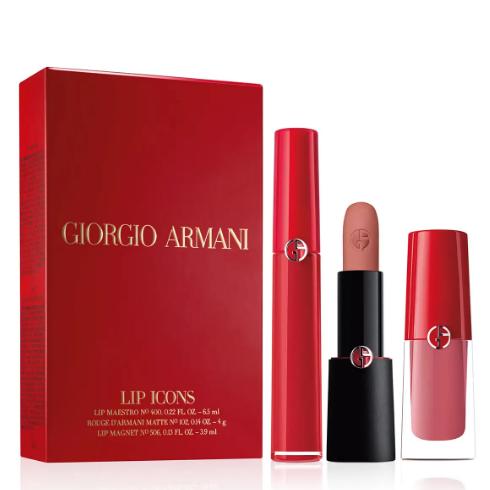上新!Giorgio Armani 阿瑪尼 3件唇部產品禮盒