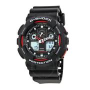 【55專享】Casio 卡西歐 G-Shock 系列 黑色男士運動腕表 GA100-1A4