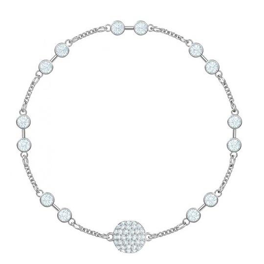 【55專享】Swarovski 施華洛世奇 銀色水晶手鏈