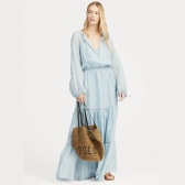 Ralph Lauren 拉夫勞倫 Tiered-Skirt Maxidress 長裙