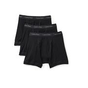 Calvin Klein 3件裝棉質經典平角內褲