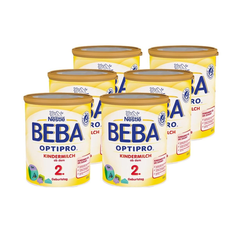 3kg內包郵!Nestle 雀巢 Beba 貝巴 Optipro 超級能恩嬰幼兒奶粉 2段 800g*6罐