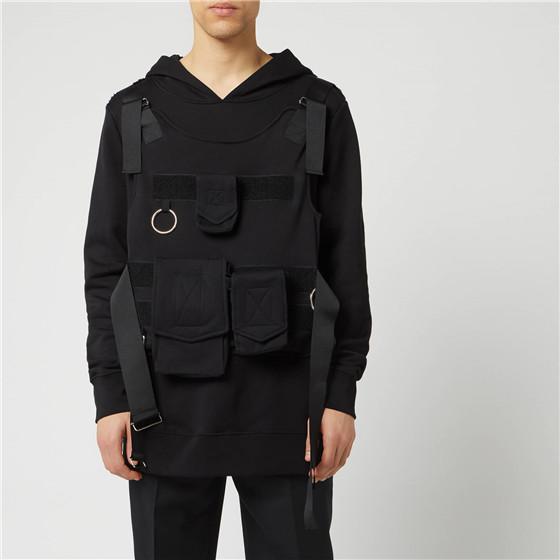 Matthew Miller 創意機能風背帶衛衣
