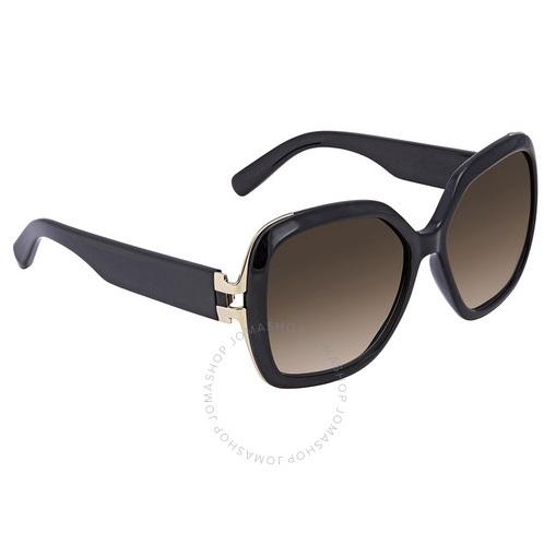 【55專享】降價!Ferragamo 菲拉格慕 棕色漸變方形太陽鏡