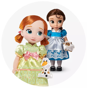 shopDisney 迪士尼美國官網:精選多款人物娃娃周邊