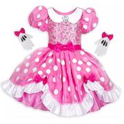 Disney 迪士尼 米妮粉色兒童服裝