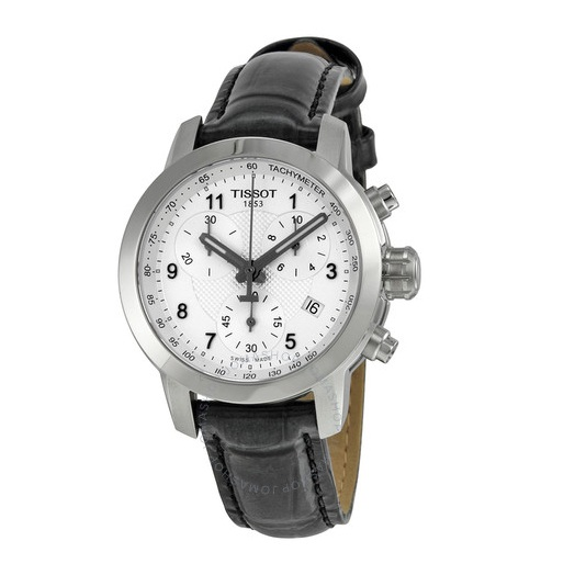 【55專享】Tissot 天梭 PRC200 系列 銀黑色女士氣質腕表 T055.217.16.032.02