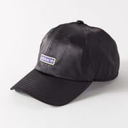 adidas Originals 阿迪達斯三葉草 Metallic Relaxed Baseball Hat 絲緞棒球帽