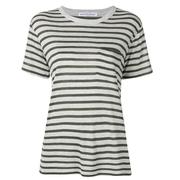 T BY ALEXANDER WANG 女款條紋襯衫