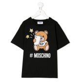 MOSCHINO KIDS Teddy logo 童款T恤衫