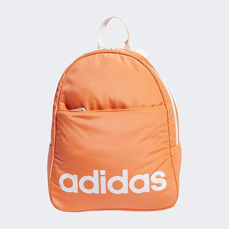 【中亞Prime會員】adidas 阿迪達斯 Core 迷你雙肩包背包 珊瑚色