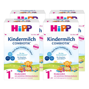 德國直郵!Hipp 喜寶 益生菌元嬰幼兒奶粉 1+段 600g*4盒