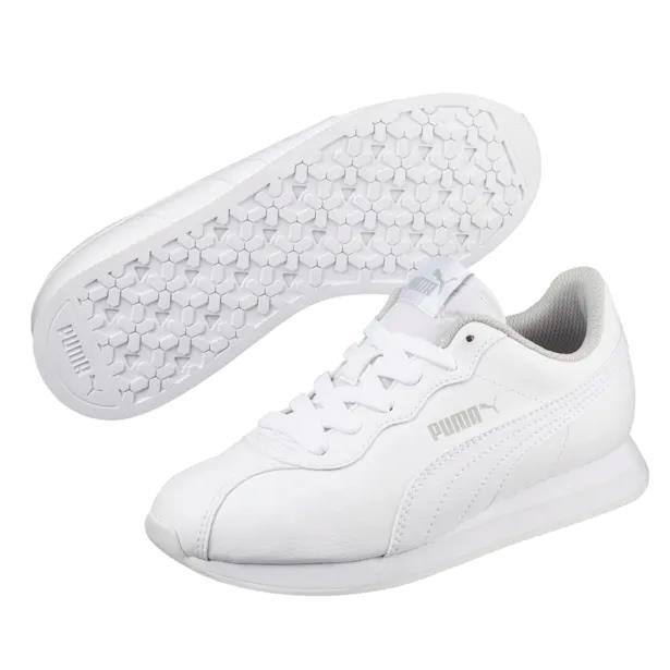 【額外5折】Puma 彪馬 Turin II 大童款 皮面小白鞋