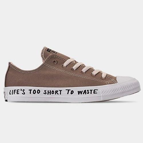【額外7.5折】Converse 匡威 All Star Renew 環保系列 男子低幫帆布鞋