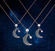Swarovski Symbolic Moon 新款星月項鏈