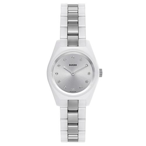 近期低價!Rado 雷達 Specchio 系列 銀白色女士典雅腕表 R31509712