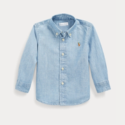Ralph Lauren 拉夫勞倫 Cotton Chambray Shirt 幼童襯衫