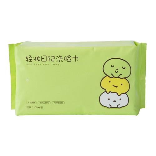 【返利21.6%】棉森 一次性洗臉巾 100抽*3包