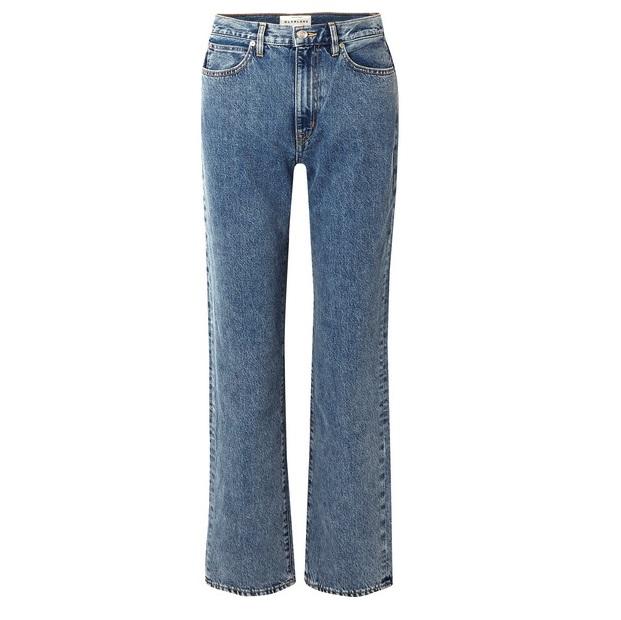 SLVRLAKE London 高腰直筒牛仔褲