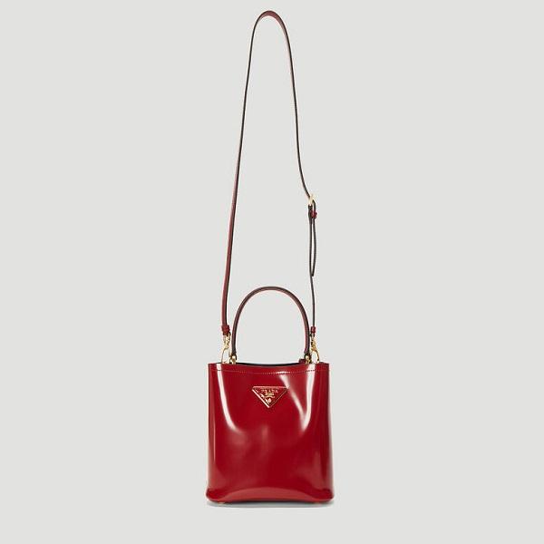 PRADA Panier 小號紅色包包