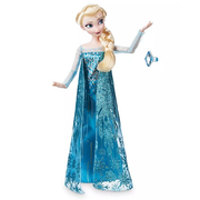 Disney 迪士尼 冰雪奇緣 Elsa 艾莎經典娃娃+戒指