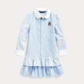 Ralph Lauren 拉夫勞倫 Bear Striped 2-6歲小童襯衫裙